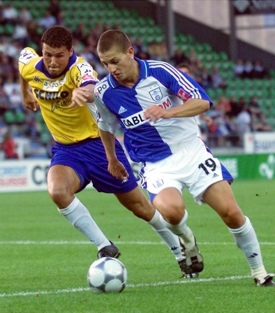 Fussball NLA - Grasshopper Zuerich - FC Luzern